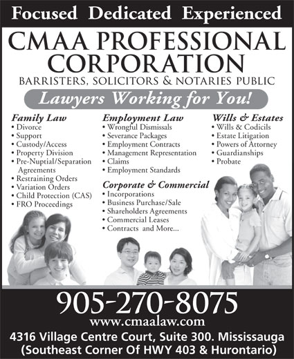 Ads CMAA Professional Corporation