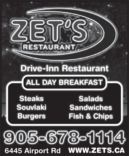 Ads ZET Drive-Inn Restaurant