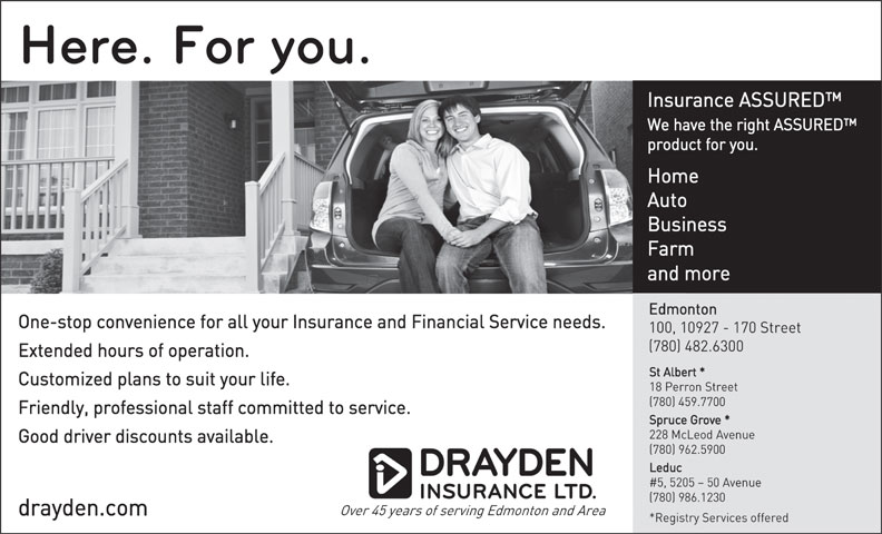Ads Drayden Insurance Ltd