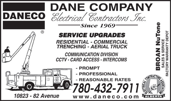 Ads Dane Company Electrical Contractors Inc