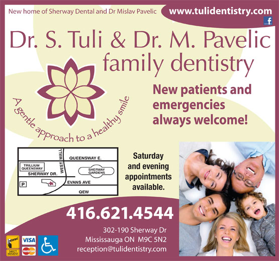 Ads Dr S Tuli Family Dentistry