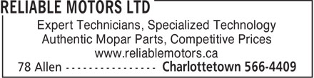 Ads Reliable Motors Ltd
