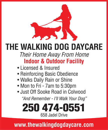 The Walking Dog Daycare - Victoria, BC - 658 Jadel Dr | Canpages