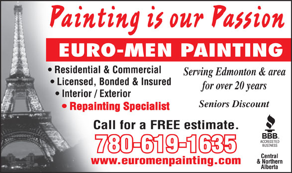 Ads Euro-Men Painting Ltd