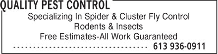 Ads Quality Pest Control