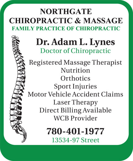 Ads Northgate Chiropractic & Massage
