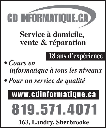 Ads CD Informatique