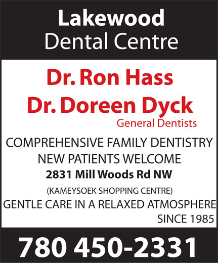 Ads Lakewood Dental Centre