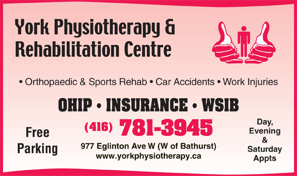 Ads York Physiotherapy & Rehabilitation Centre