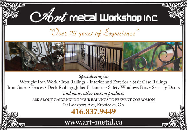 Ads Art Metal Workshop Inc