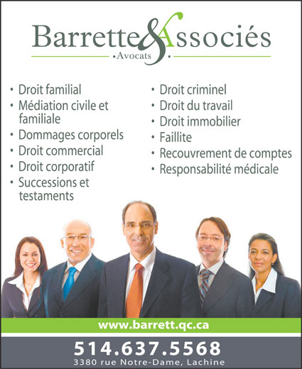 Ads Barrette &amp; Associs