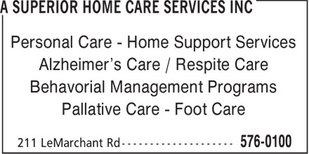 Ads A Superior Home Care Services Inc