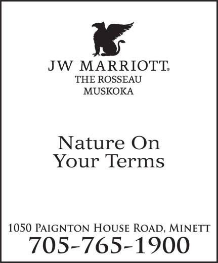 Ads JW Marriott The Rosseau Muskoka Resort & Spa