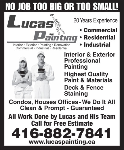 Ads Lucas Painters