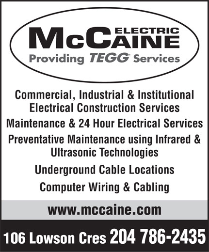 Ads McCaine Electric Ltd