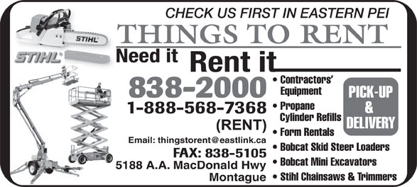 Ads Things To Rent