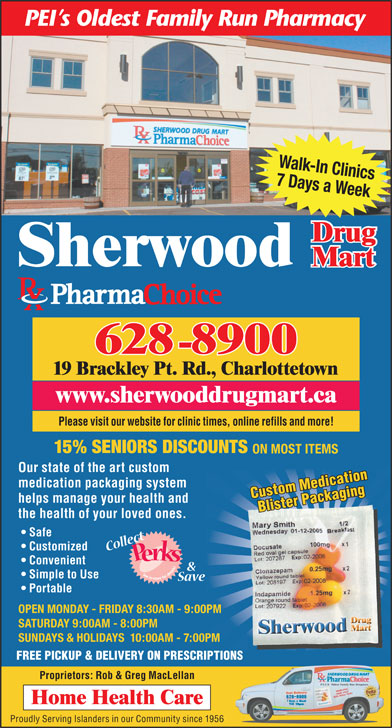 Ads Sherwood Drug Mart Ltd
