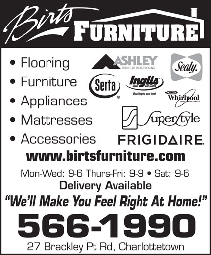 Ads Birt's Furniture