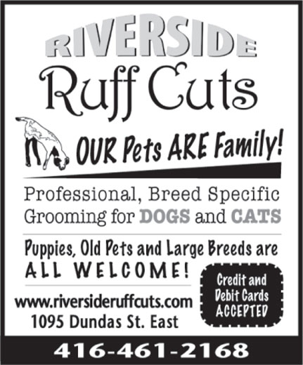 Ads Riverside Ruff Cuts Pet Grooming