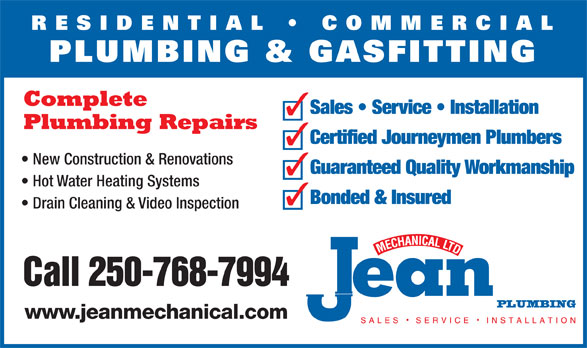 Ads Jean Mechanical Ltd