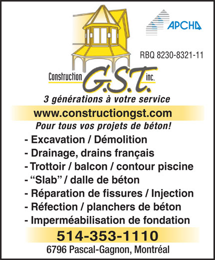 Ads Gst Construction