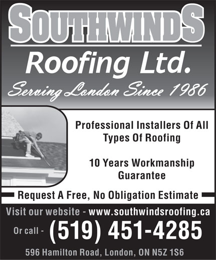 Ads Michael Glen Re Southwind Roofing