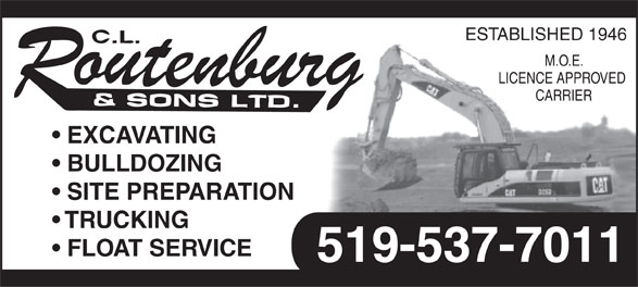 Ads Routenburg C L & Sons Ltd