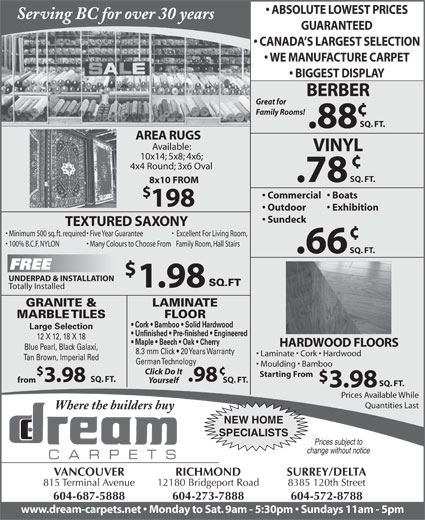 Ads Dream Carpets Ltd