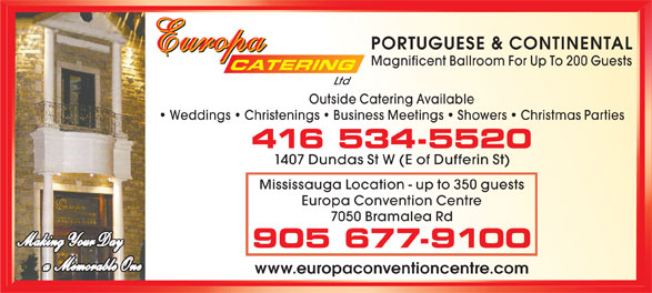 Ads Europa Catering Ltd