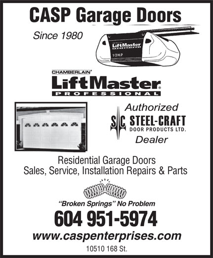 Ads Casp Garage Doors