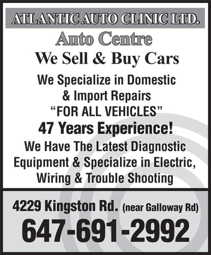 Ads Atlantic Auto Clinic Ltd