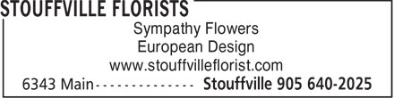 Ads Stouffville Florist Inc