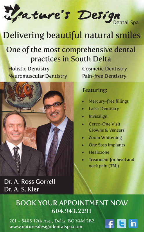 Ads Nature's Design Dental Spa