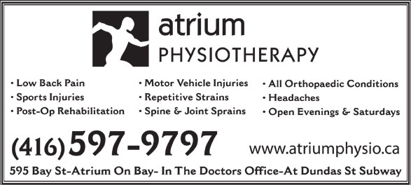 Ads Atrium Physiotherapy