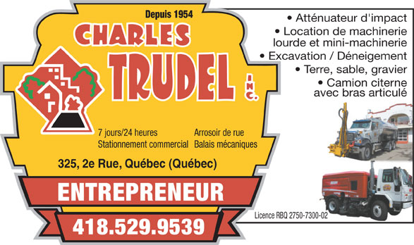 Ads Charles Trudel Inc