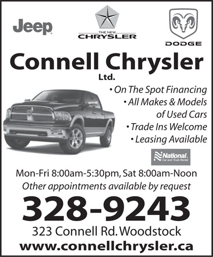 Ads Connell Chrysler Ltd