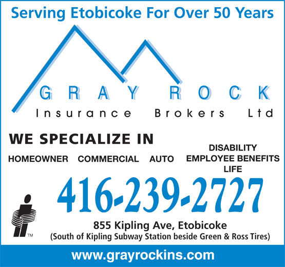 Ads Gray Rock Insurance Brokers Ltd