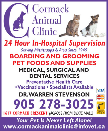 Ads Cormack Animal Clinic