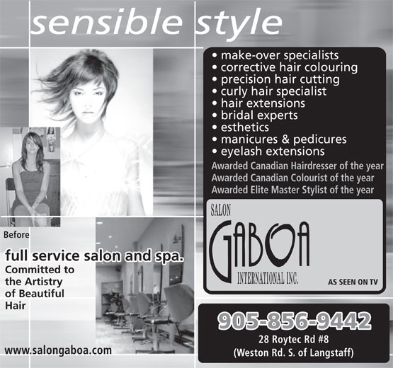 Ads Salon Gaboa International Inc