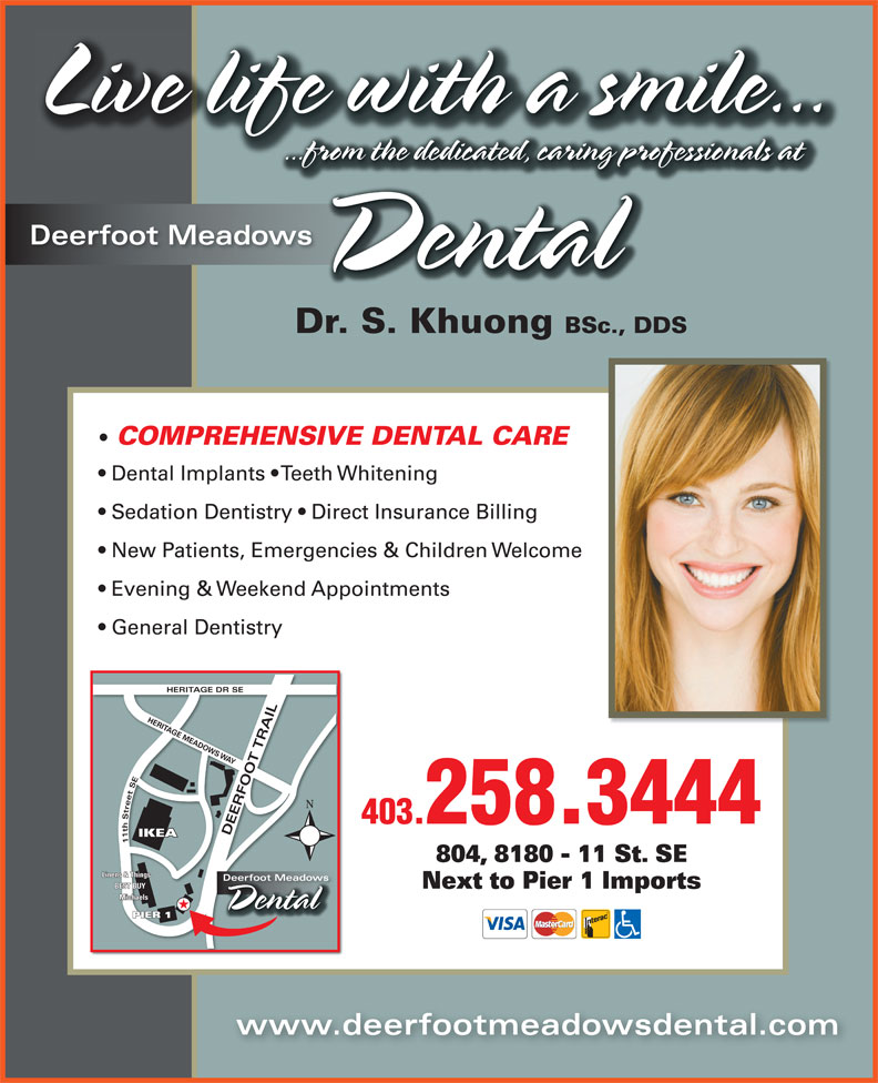 Ads Deerfoot Meadows Dental