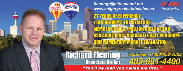 Ads Remax Mountainview - Richard Fleming