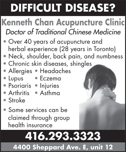 Ads Kenneth Chan Acupuncture Clinic