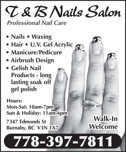 Ads T&B Nails Salon