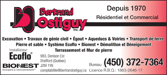 Ads Ostiguy Bertrand Inc