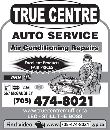 Ads True-Centre Auto Service