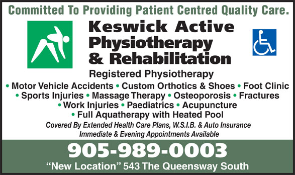 Ads Keswick Active Physiotherapy & Rehabilitation