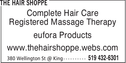 Ads The Hair Shoppe