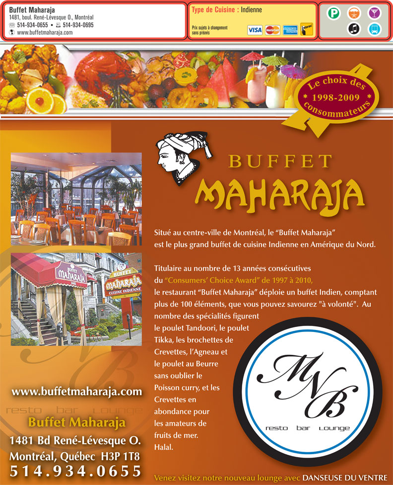 Ads Buffet Maharaja