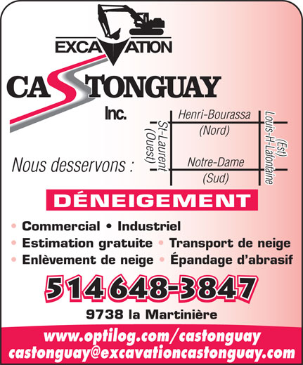 Ads Excavation Castonguay Inc