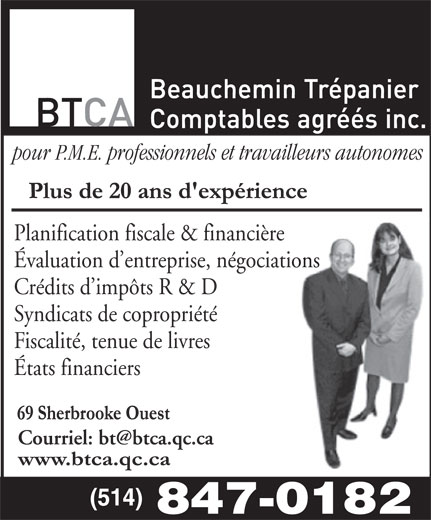Ads Beauchemin & Trépanier Inc